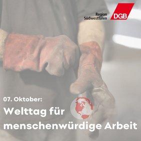 Welttag für menschenwürdige Arbeit