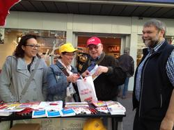 DGB-Infostand in Meschede