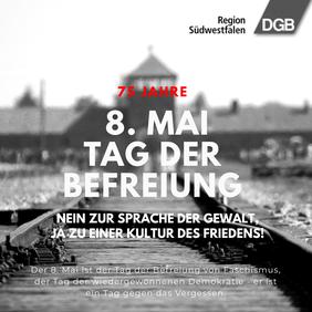 8. Mai - Tag der Befreiung