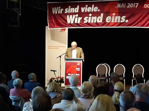 1. Mai-Veranstaltung in Arnsberg
