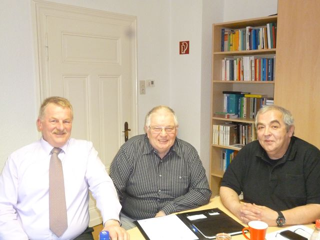 Termin im DGB-Büro Meschede mit Vizepräsident der Handwerkskammer Südwestfalen