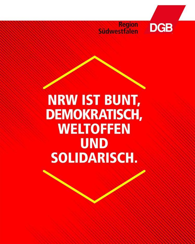 Woche der Demokratie und des Respekts in NRW.