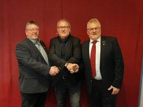 DGB gratuliert neuem Arbeitnehmervizepräsidenten der Handwerkskammer Südwestfalen