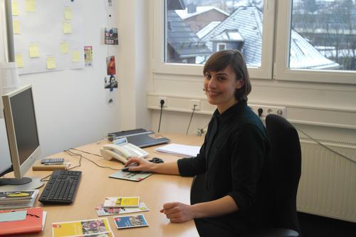 Mina Schellschläger, neue DGB-Jugendbildungsreferentin Südwestfalen