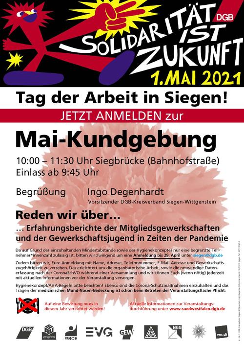 1. Mai Kundgebung Siegen