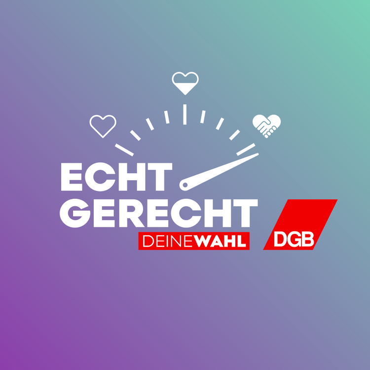 DGB startet Bundestagswahl-Kampagne