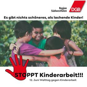 """""""Stoppt Kinderarbeit!"""""""