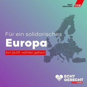 Solidarisches Europa verwirklichen – Europas Handlungsfähigkeit für die Gestaltung einer fairen Globalisierung sichern