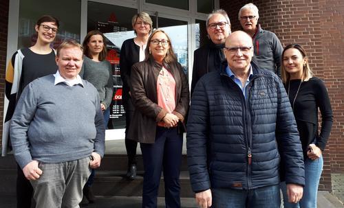 DGB-Landesvorsitzende Anja Weber zu Besuch in der DGB-Region Südwestfalen
