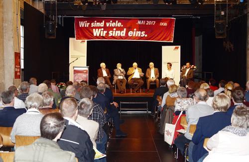 1. Mai- Veranstaltung in Arnsberg