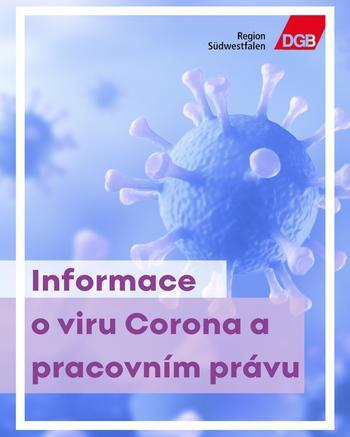 """Informationen rund um das Thema """"Coronavirus und Arbeitsrecht"""""""