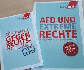 DGB Argumentationskarten gegen Rechtspopulismus