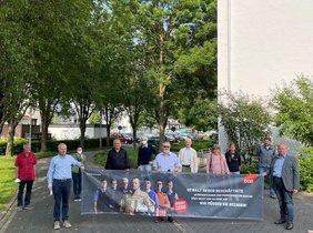 Der DGB-Kreisverband Olpe hat sich in seiner ersten Sitzung in Präsenz nach dem Lockdown am 23. Juni in der Stadthalle neue konstituiert. André Arenz wurde als Kreisverbandsvorsitzender wiedergewählt.