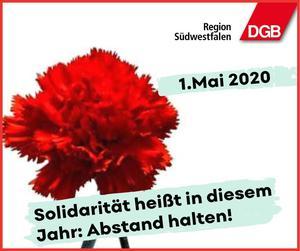 1. Mai 2020 -Tag der Arbeit-