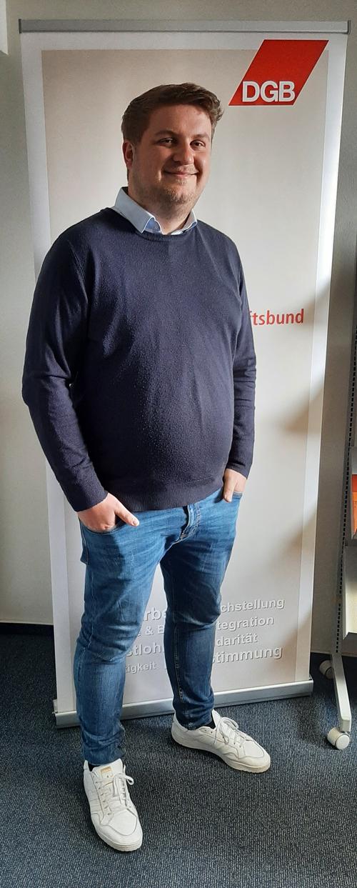 Björn Eckert neuer Jugendbildungsreferent beim DGB Südwestfalen