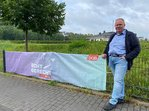 DGB-Banneraktion zur Bundestagswahl im Kreis Olpe